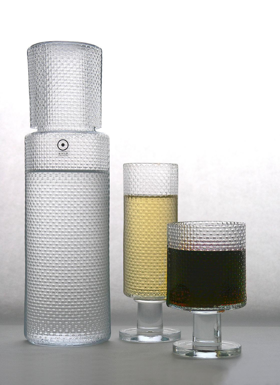 Diiva - karahvi, valkoviini- ja punaviinilasi